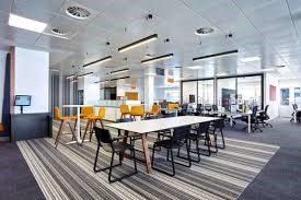 Inside an office space at PwC