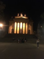 The Basilica in Eger; a good place for socialising.