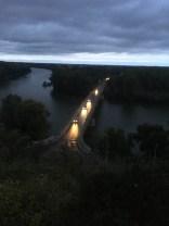 The bridge at Tokaj.