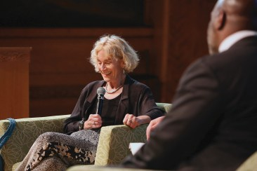 Philosopher Martha C. Nussbaum.
