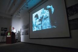 hotographer Greg Constantine presents on opening night.