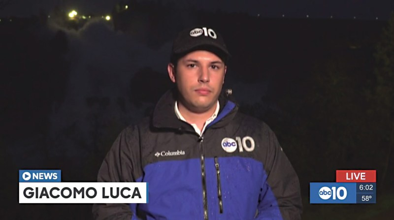 Giacomo Luca reporting