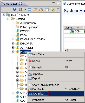 How to create tables and load data into those tables using flat files in HANA. | SAP Blogs
