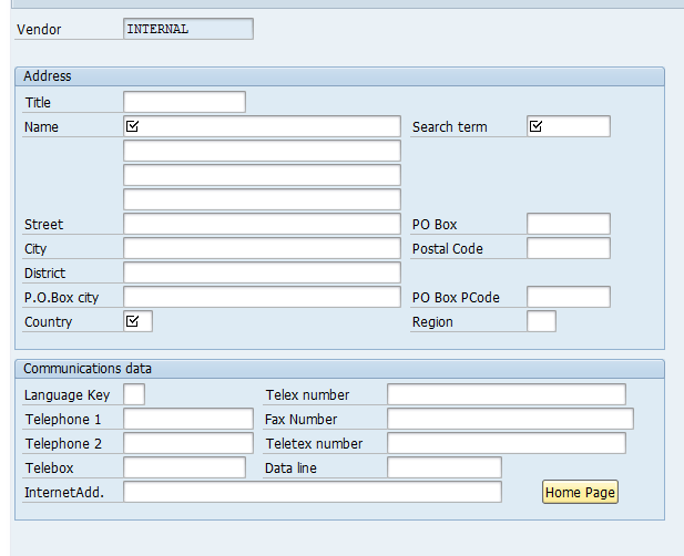 Table For Customer Master Data Changes In Sap