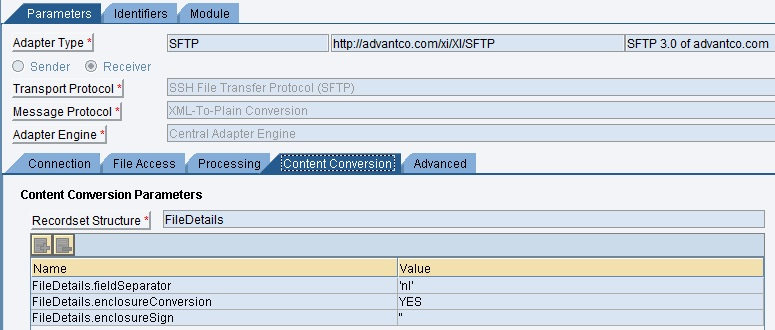 Using Pgp Module In Advantco Receiver Sftp Adapter And