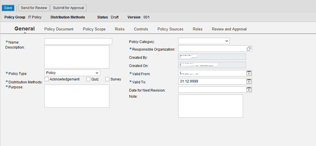 Part1:How to create Policy in Process Controls-GRCV10.0