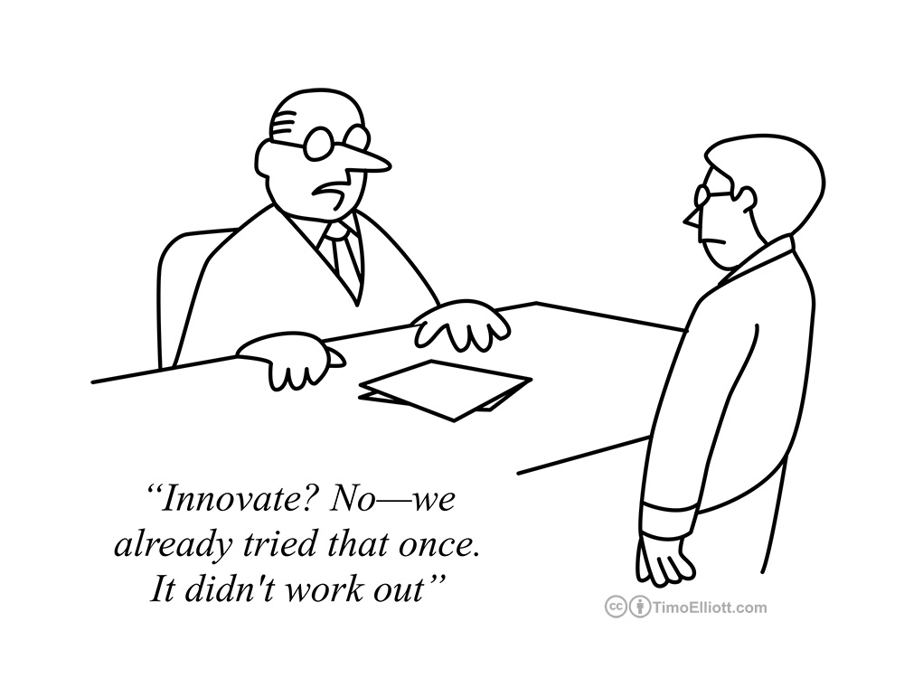 12 Cartoons That Explain Why Innovation Is So Darned Hard