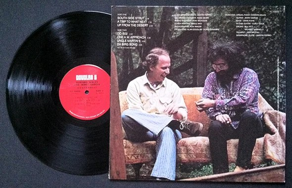 Dude How Did Scientific American End Up in This Jerry GarciaHoward Wales Album Art