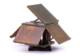 Thomas Jefferson's revolving book stand.