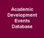 Academic Development Events Database