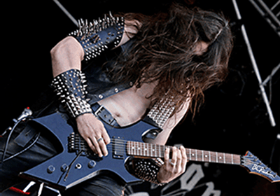 An image of a metal guitarist