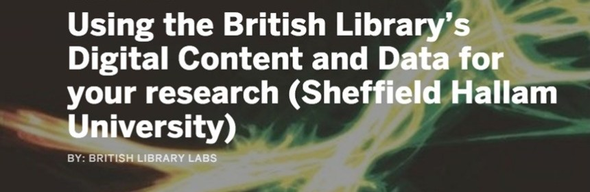 British Library Labs workshop banner