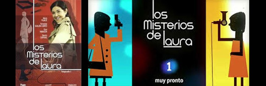 Advertising image of spanish police drama 'Los Misterios de Laura'