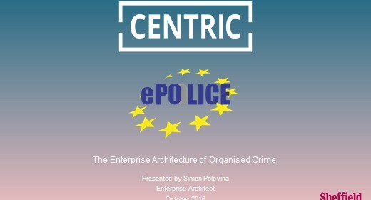 The Enterprise Architecture of Organised Crime