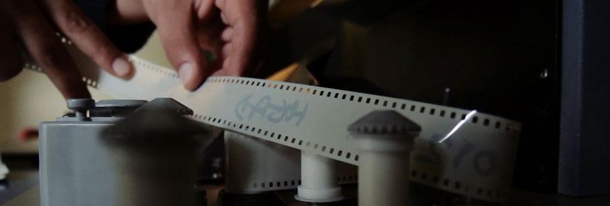 Image of film reel tape