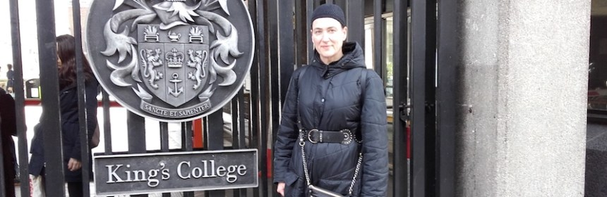 Hester Reeve at KCL