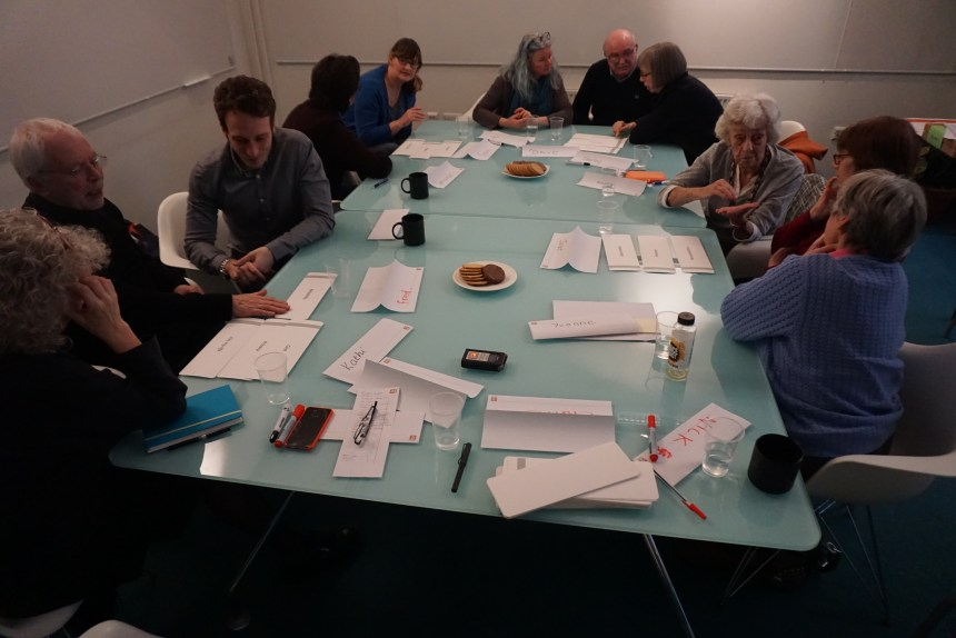 Image of the first NESTORE workshop. Image courtesy of Professor Paul Chamberlain.