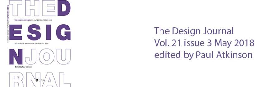 Design Journal Vol 21 issue 3