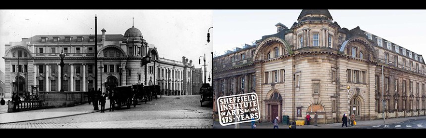 Composite image (both from Sheffield Institute of Arts)