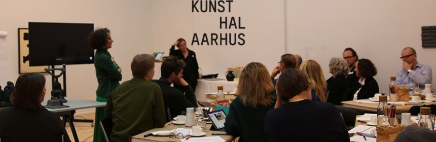 Image courtesy of Lise Autogena - Lise Autogena at Kunsthal Aarhus - Keynote on 27 March 2019 + Kunsthal Aarhus logo