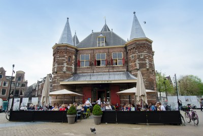 The Waag building