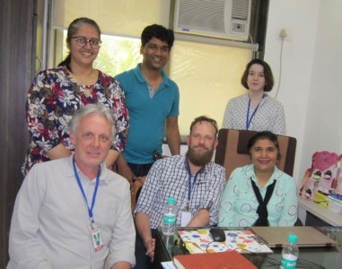 Team at IDC, Mumbai