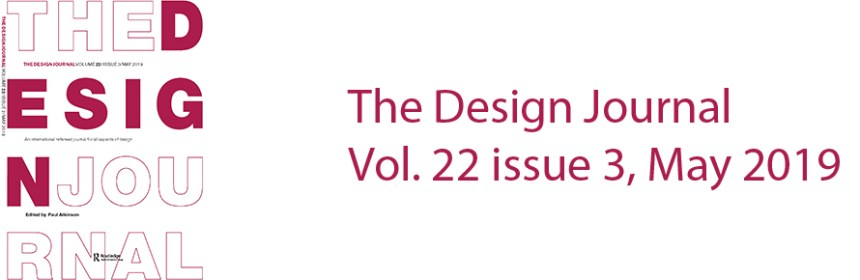 The Design Journal Vol. 22 issue 3