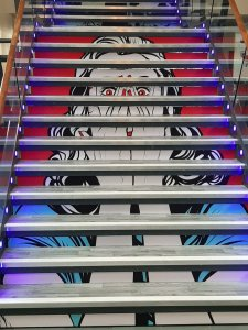 Cantor Building Stairs - Folklore on Screen 2019