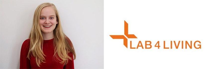 Banner - Ursula Ankeny (Lab4Living) and Lab4Living logo