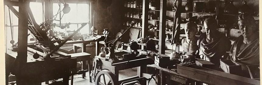 Photograph of Watt's workshop
