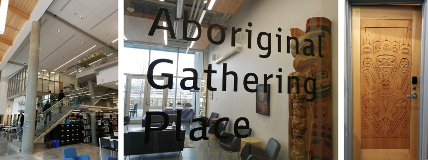The Aboriginal room at the Emily Carr University Campus