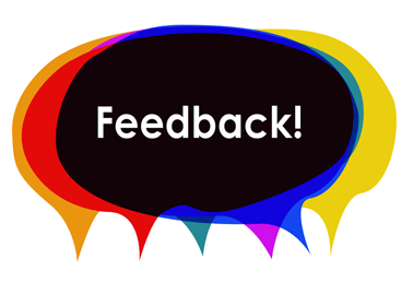 Feedback graphic