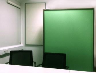 Green screen boards
