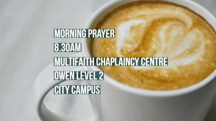 Morning Prayer Tomorrow (Wednesday)