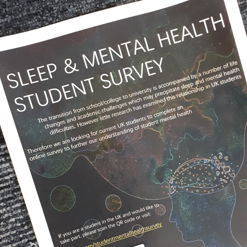 Sleep and Mental Health student survey