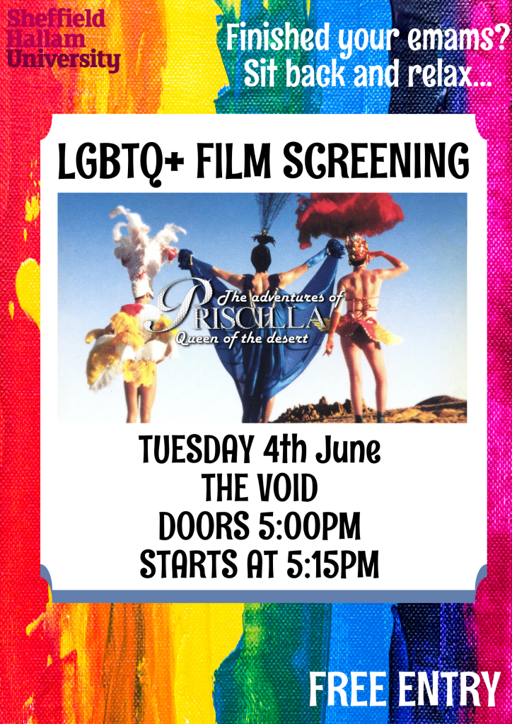 Priscilla Queen of the Desert – Film Screening