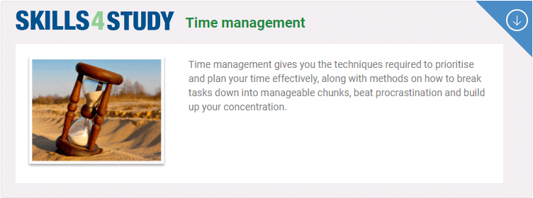 Skills4Study: Time management