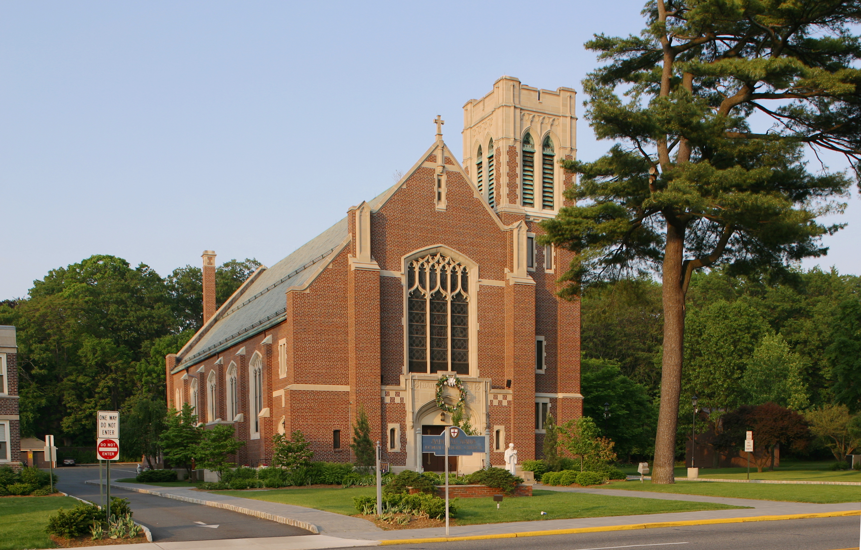 Caldwell  Saint Aloysius  Churches of the Archdiocese of