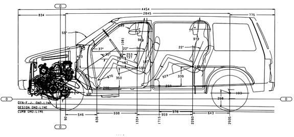 Chrysler Minivan Interior Dimensions