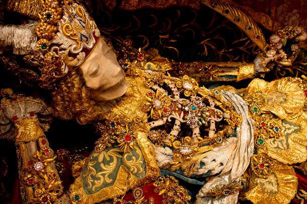 Bejeweled Skeletons of Forgotten Martyrs 1