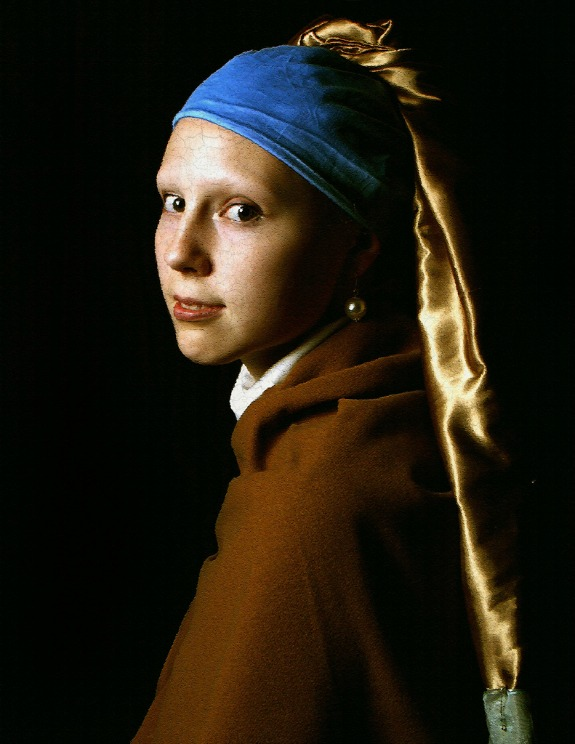 Girl with a Pearl Earring, Johannes Vermeer, Halloween Costume