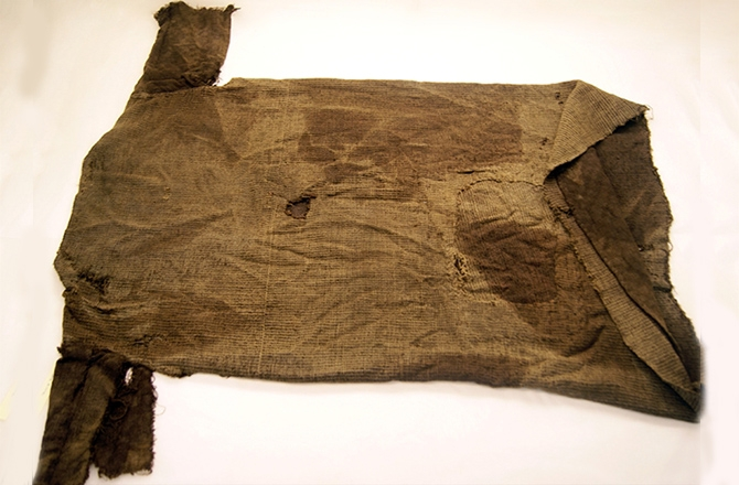The ancient Norwegian tunic, photo: Museum of Cultural History, University of Oslo, Marianne Vedeler