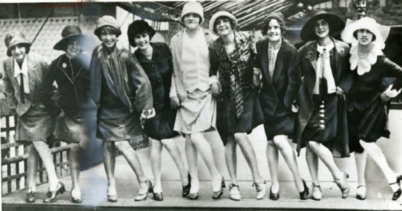 Image result for vintage photo flappers