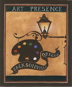 Art Presence, ensuring the presence of locally created art at Jacksonville, Oregon's public events