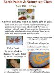 Earth Paints & Nature Art Class with Leah Mebane