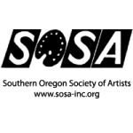 SOSA February meeting : sosa logo southern oregon society of artists