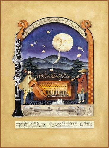 """Moonlight Serenade at Britt Pavilion"" by Katharine Gracey"