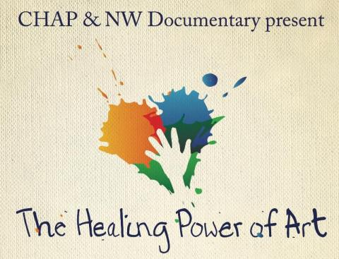 CHAP documentary The Healing Power of Art logo