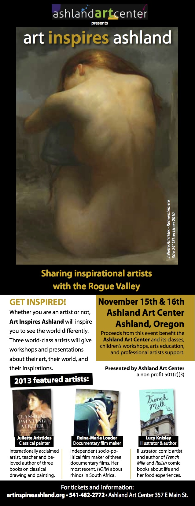 Art Inspires Ashland Postcard