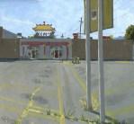 Kim's Medford, Oil Painting by Sarah F Burns